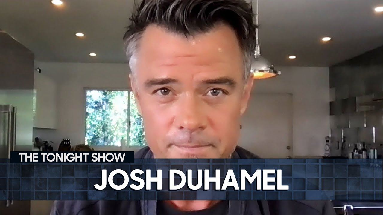 Josh Duhamel Shows Footage from His Near-Death Experience | The Tonight Show Starring Jimmy Fallon