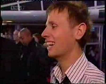 Muse Interview at Brit Awards 2004