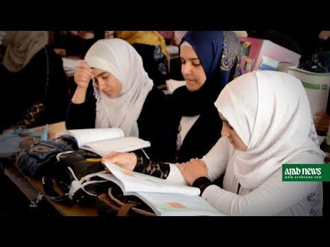 Schoolgirls in Iraq's Mosul aim to catch up on lost years