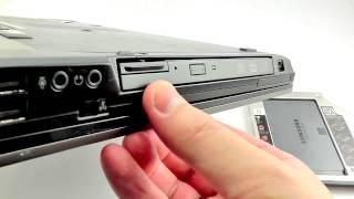 ОБЗОР: Карман-адаптер для SSD-HDD диска вместо CD-DVD для ноутбуков DELL E6400/ E6410/ E6500/ E6510(Цена и наличие тут: ..., 2014-11-22T11:57:34.000Z)