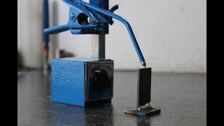 morsetto magnetico per saldatura fai da te (homemade magnetic welding clamp)
