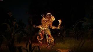 Black Desert Online kunoichi gameplay (2 small bossfights)