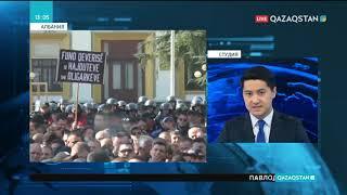Албанияда мыңдаған адам үкіметтің жұмысын тоқтатуды талап етіп, шеруге шықты