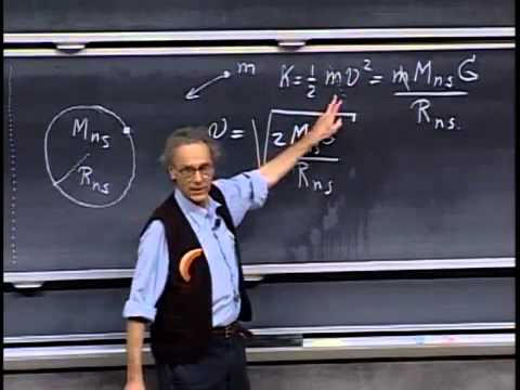 8.01 Lecture 23   Doppler Effect, Binary Stars, Neutron Stars and Black Holes