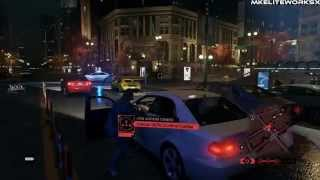 Watch Dogs PC | Short Review, GamePlay & Crazy Police Chase!