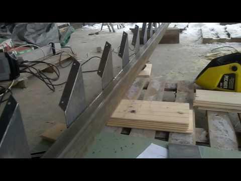 изготовление, монтаж лестницы/How to make stairs