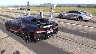900HP BRABUS Mercedes-Benz CLS63 AMG vs Bugatti Chiron