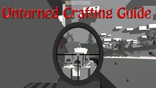 Unturned Crafting Guide How To Craft: Wooden Shield,wooden Ramp,wooden Ladder,dock Foundation