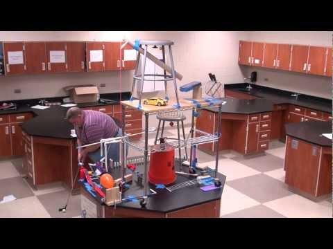South Elgin High School Rube Goldberg Machine