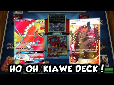 AGGRO AND AGGRESSIVE | Ho-oh GX/Kiawe Deck Profile and Battles w/ TrainerChip