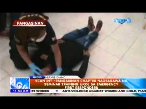 SCAN International, nagsagawa ng Emergency First Responders Training Seminar sa Pangasinan