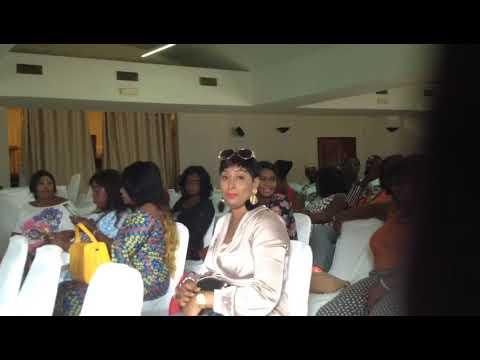 At the debate in Atlantic hotel in Banjul