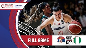 Serbia v Nigeria - Full Game - FIBA Women's Olympic Qualifying Tournament 2020