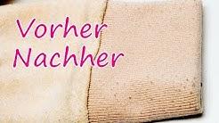 Pilling & Fusseln aus Kleidung entfernen (aufwerten & neuwertig) Remove Pilling