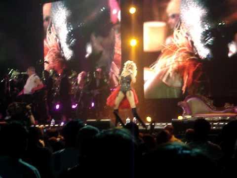 Christina Aguilera  Lady Marmalade  Back to Basics Tour  042007 Washington DC