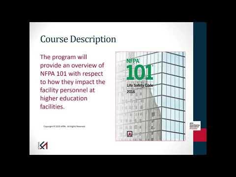 2020 09 03 13 28 Koffel Talk   NFPA 101   Life Safety Code®