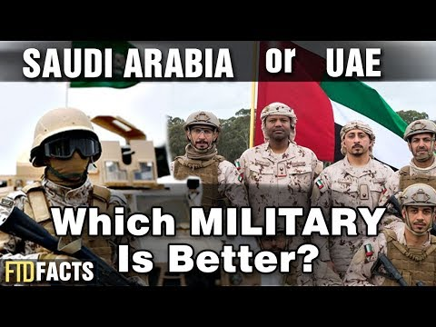 SAUDI ARABIA or UAE - Which Military is Better?