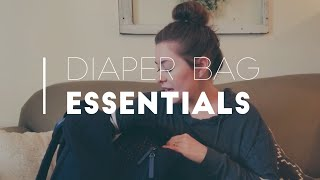 WHAT'S IN MY DIAPER BAG?!