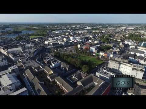 Galway city in Summertime (High altitude) 2015
