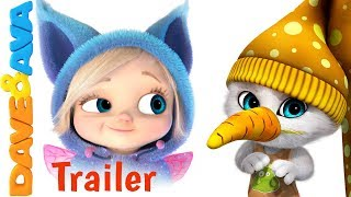 🐰 Little Bunny Foo Foo – Trailer | Kids Songs and Nursery Rhymes from Dave and Ava 🐰