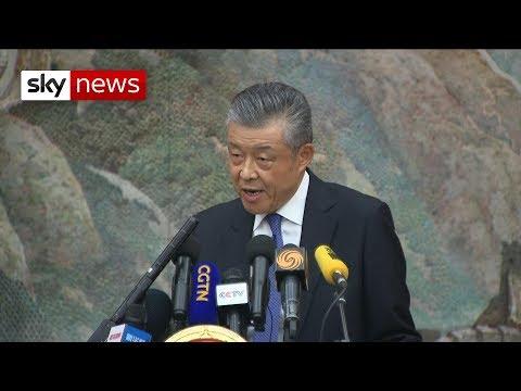 China ambassador tells UK to back off Hong Kong