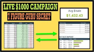 🔥 Clickbank Affiliate Marketing (Live $1000 Campaign Guru Secret) 🔥