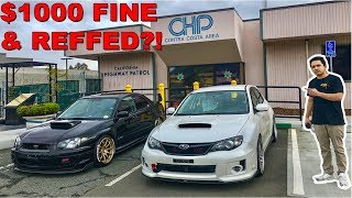 Confronting CHP With Our HEAVILY MODIFIED Cars!