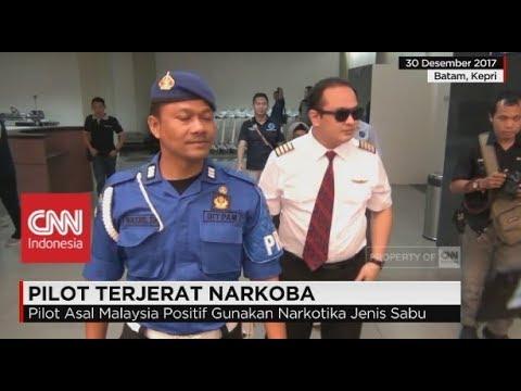 Pilot Asal Malaysia Tertangkap BNN Bawa Sabu