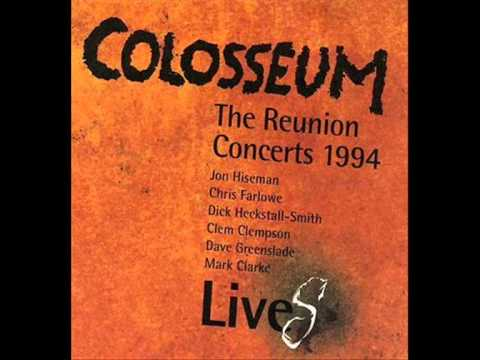 """COLOSSEUM  """"A WHITER SHADE OF PALE"""" LIVE!!!!!  1969"""