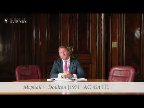 Equity Short: Mcphail v. Doulton