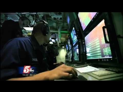 EXCLUSIVE: Aboard the USS Minnesota Submarine at Sea