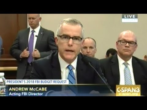 Acting FBI Director Sounds Like Top FBI Priority Is Spying O