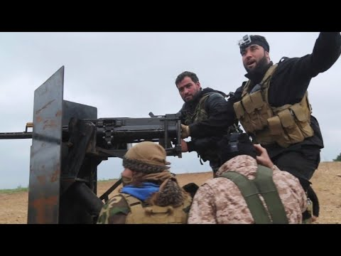 دوريات للفصائل السورية الموالية لتركيا في بلدات مجاورة لعفرين