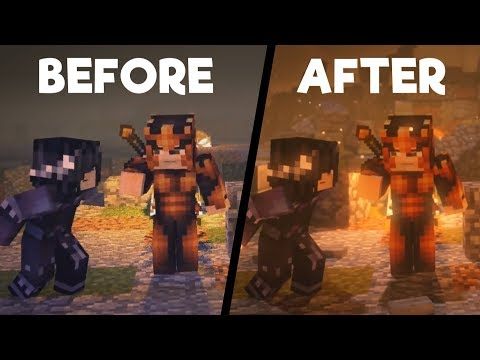 The Fall: BEFORE & AFTER (Minecraft Animation)  