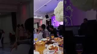 свадьба Жакут+Алтынай Кафе