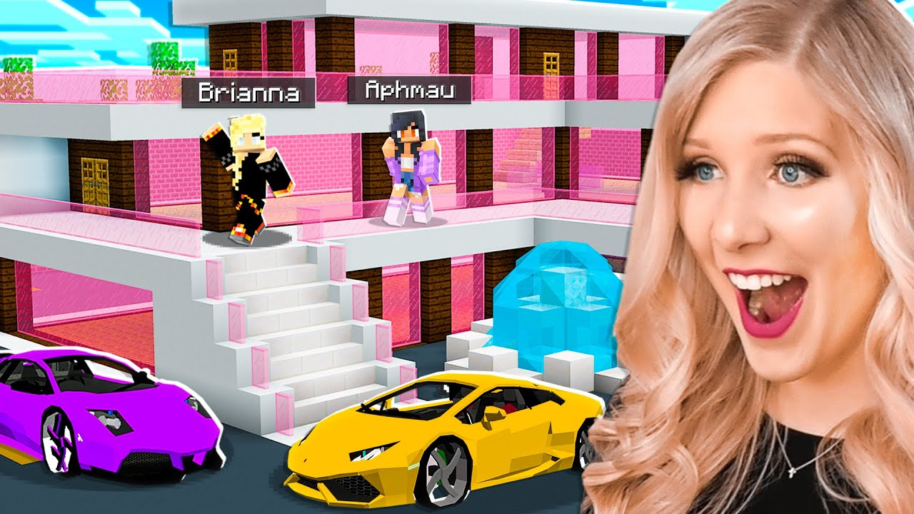 Download Minecraft MILLIONAIRE House Battle vs Aphmau! - Challenge