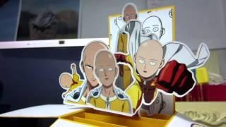 [Cards] Saitama, One Punch Man Greeting Card