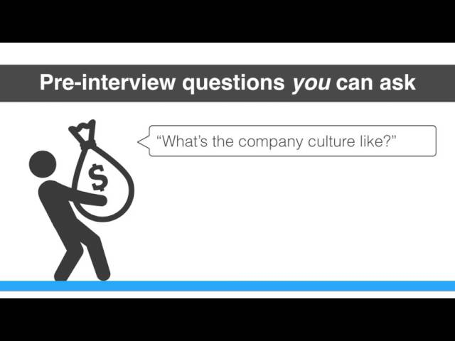 How to ace your next interview - Four questions you can ask
