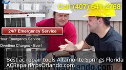 AC Repair Altamonte Springs Florida
