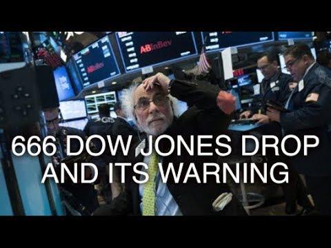 666 Dow Jones DROP and Spiritual warnings (Aussie Watchman) - YouTube