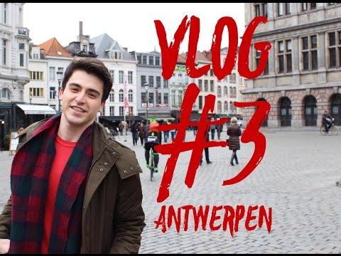 Vlog #3 | Sınavlar sonrası: Antwerpen | Cowcaddens