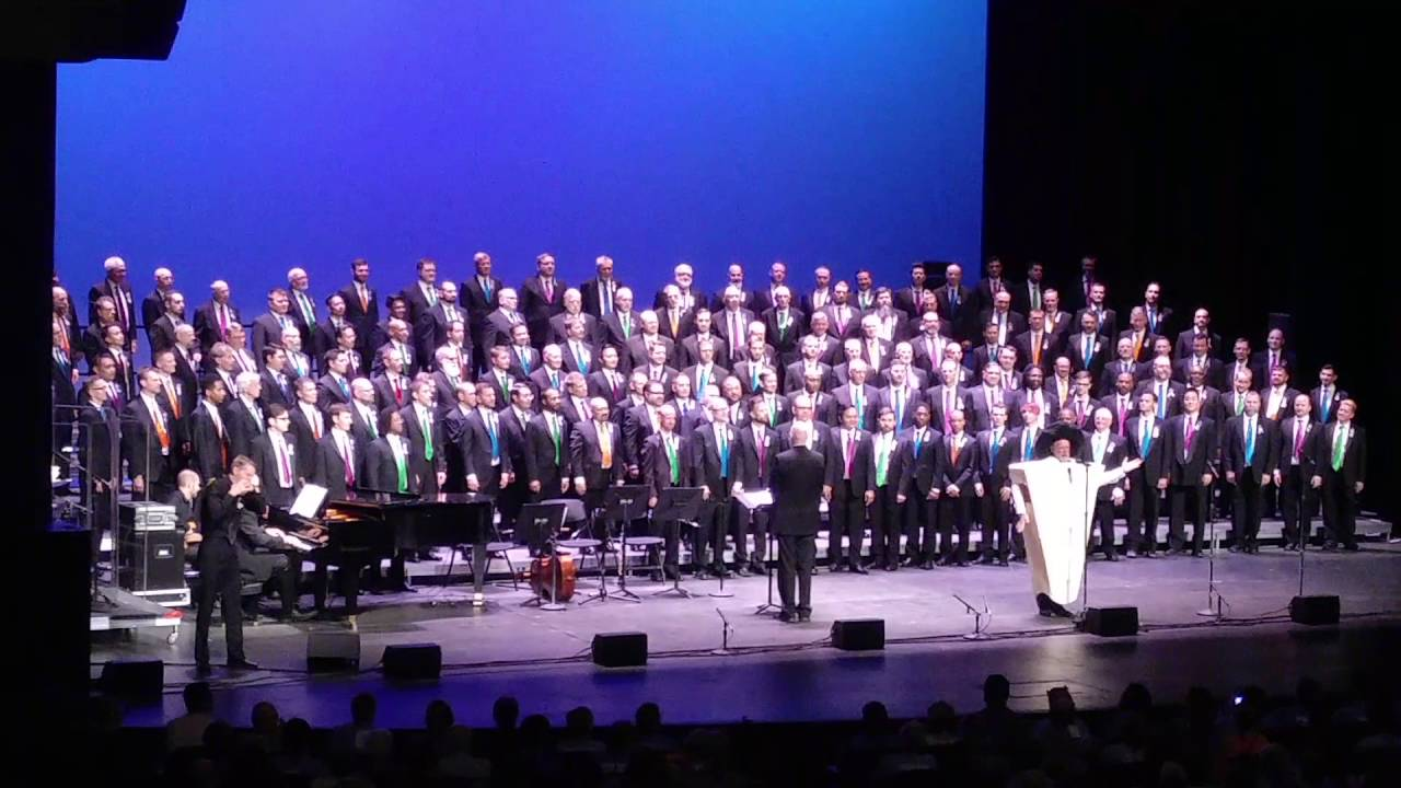 Seattle Men's Chorus Best Song Ever! - YouTube