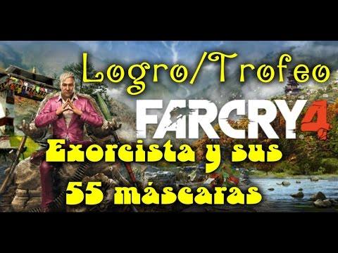 Far Cry 4 Logro / Trofeo Exorcista ( 55 máscaras de Yalung )