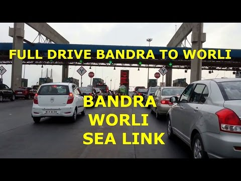 Bandra Worli Sea Link Full ride HD Video May 2014 Mumbai Rajiv Gandhi Sea Link Alertcitizen