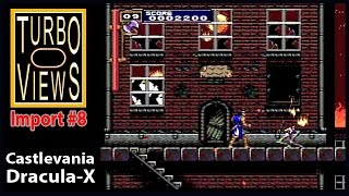 """""""Castlevania: Dracula X (Rondo of Blood)""""  -  Turbo Views Import #8 (PC-Engine / Wii game REVIEW!)"""