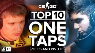 Top 10 One Taps (Rifles and Pistols)
