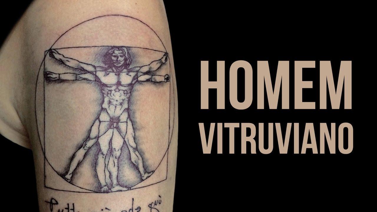 HOMEM VITRUVIANO (Leonardo Da Vinci)