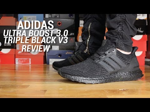 ADIDAS ULTRABOOST 30 TRIPLE BLACK REVIEW