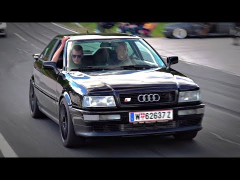 BEST Of AUDI 5-CYLINDER TURBO Engine SOUNDS | Audi S2, S1 Group B, TT-RS, RS3, Quattro & More!