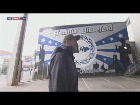 Fabian Klos Doku bei Sky vor dem DFB Pokal Spiel in Frankfurt 2017